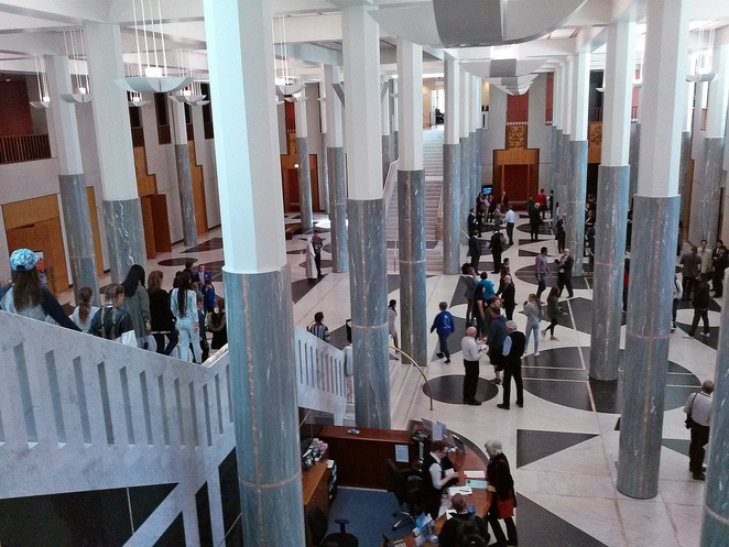 parliament house, foyer, marble, canberra, tourist attractions, ACT,
