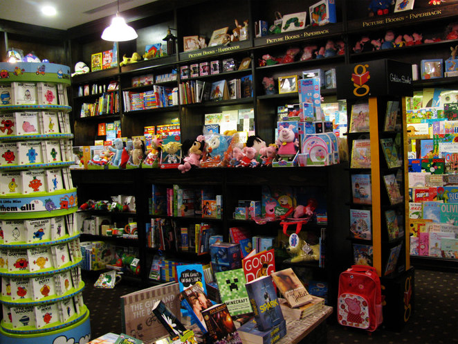 The children's section of Robinsons Emporium