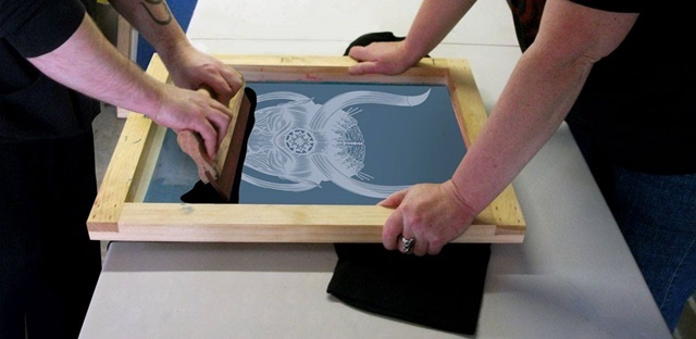 Screen,printing,course