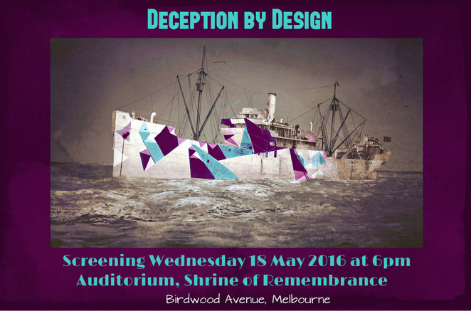 shrine of remembrance, deception by design, documentary screening, doco, visit the shrine, war story, jonnie morris, kate pappas, military installations, tour