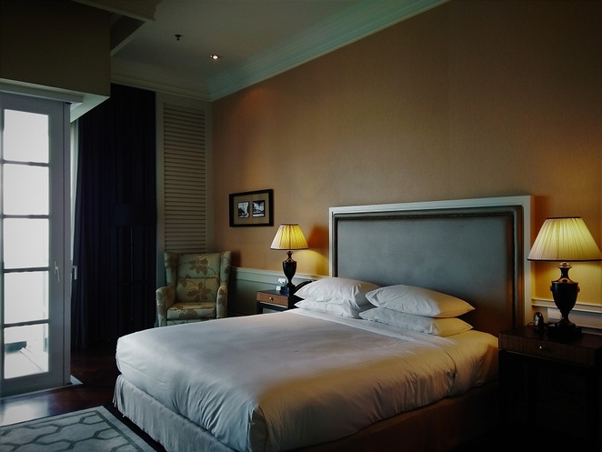 suite in E&O Hotel victory annexe, penang, malaysia