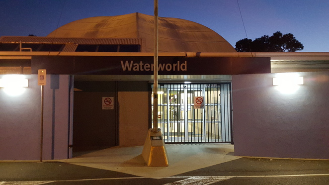 Main entrance to Waterworld Norlane