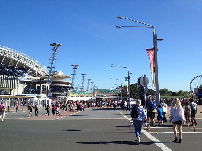 The Sydney Royal Easter Show attracts more than 900,000 people each year.