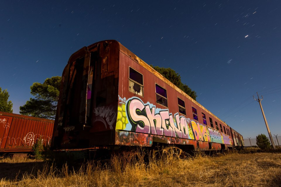The Tailem Bend Train Graveyard - Adelaide