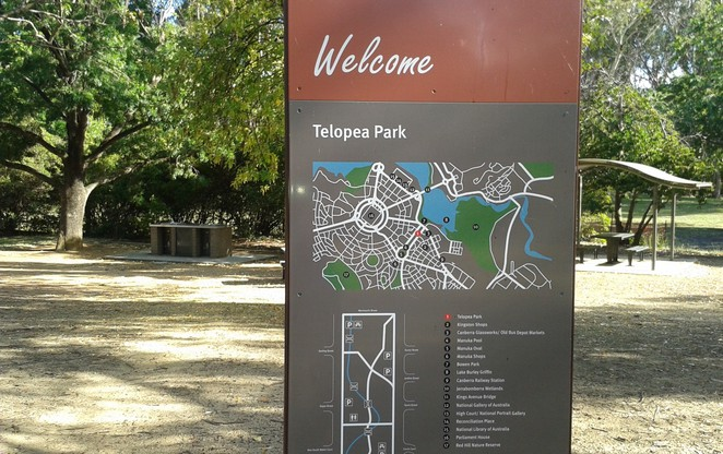 telopea park, barton, kingston, canberra, ACT, playground, history, walks, bike riding, jogging,
