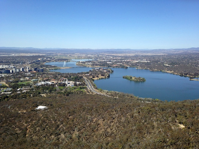 telstra tower, view, lookout, outdoor viewing platforms, canberra, ACT, open christmas day, 2017, lookouts, tower, black mountain,