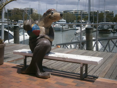The Seal on the Bench