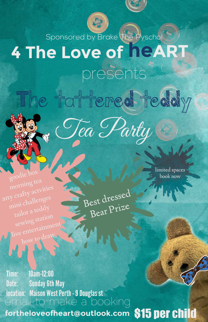The Tattered Teddy Tea Party