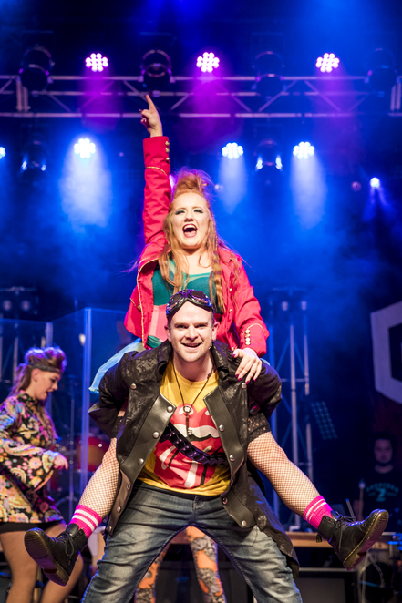 theatre, hornsby musical society, we will rock you, north shore, musical