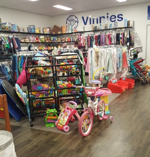 Vinnies Sumner Park op shop