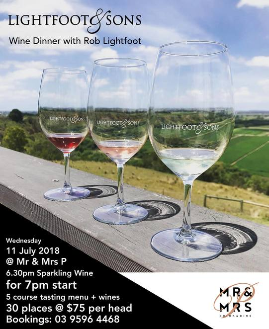 winter events upstairs, mr & mrs p, meet the winemaker, wine masterclass, ten minutes by tractor, lightfoot & sons, premium taylors wines, wood park, crittenden estate, winter events, night life, date night, fun things to do, community event, brighton, food and wine pairings, bar