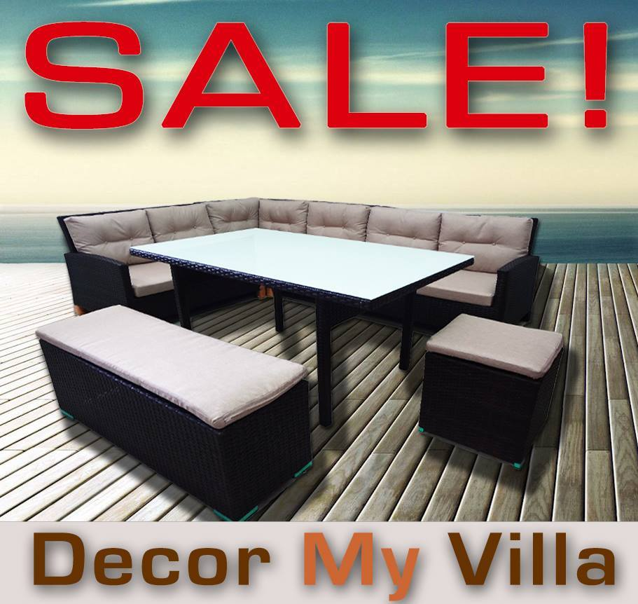 Outdoor furniture christmas sale up to 70 off melbourne for Garden furniture 70 off