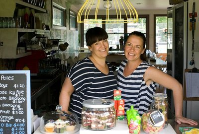 The Thompson sisters have 25 years of childcare experience betwen them.