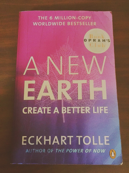 A New earth book Eckhart Tolle