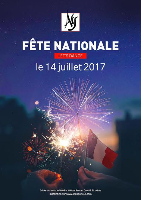 Bastille Day 2017, Bastille Day Singapore, Association Française de Singapour, W Hotel Singapore, W Hotel Sentosa, French Flag cocktail, French community Singapore