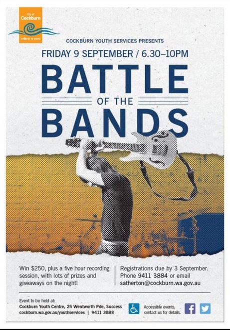 Battle of the Bands Cockburn Youth Centre