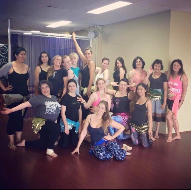 belly dance, meditation , circle