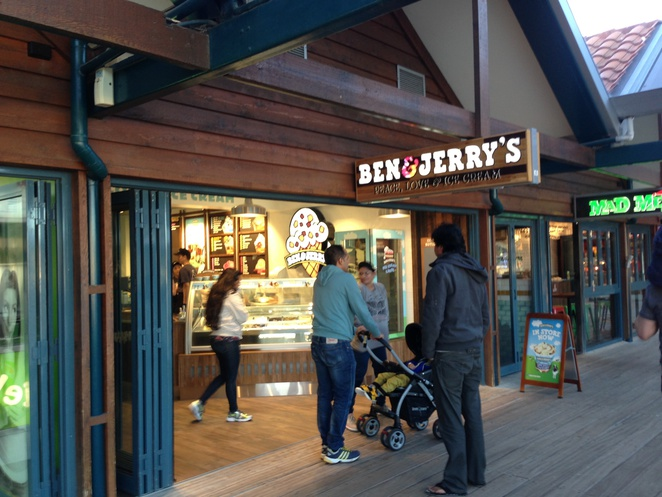 Ben and Jerry's Hillary's boat Harbour