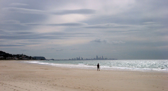 Bilinga Beach is the Gold Coast's quietest beach