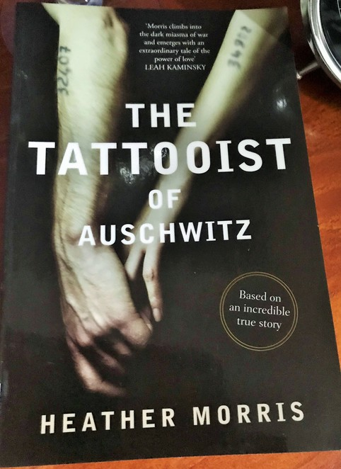 books, authors, literary, weekend reads, put your feet up, the tattooist of auschwitz, heather morris,