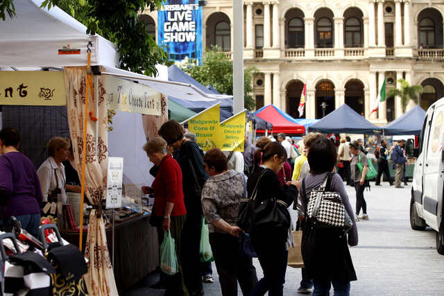 City Farmer's Market (Courtesy of Brisbane City Council)