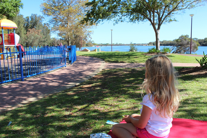 Burswood Park picnic lunch