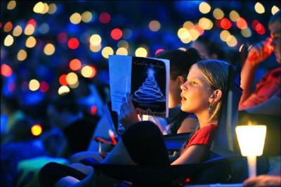 carols by candle light, elder park, fireworks, christmas in adelaide, adelaide december events