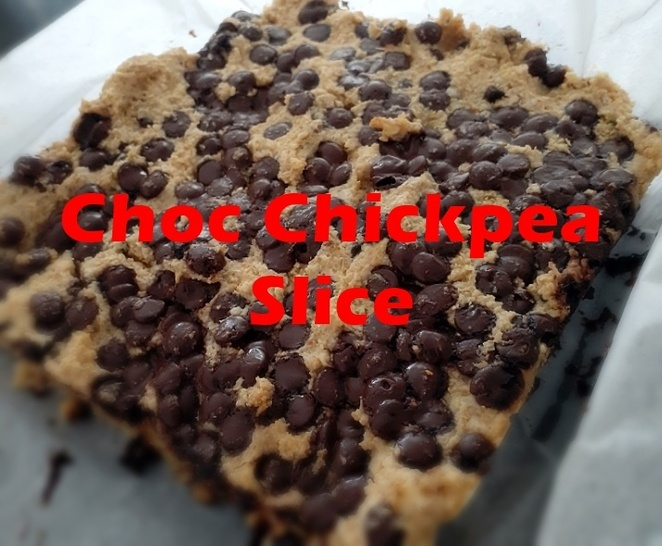 chickpea choc slice, recipe, recipes using chickpeas, beans, australia, slices, cakes, baking, easy, cheap, tinned, recipes,