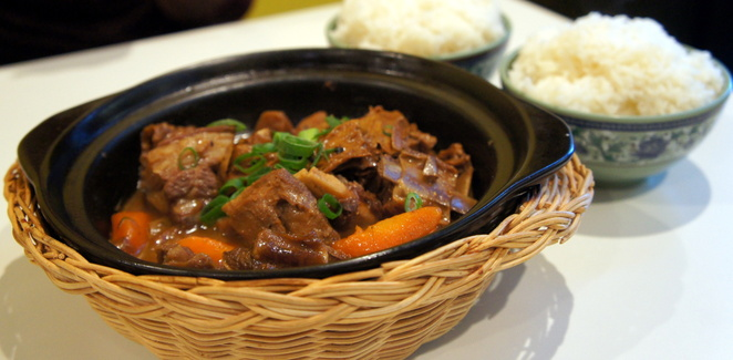 Most people don't associate a stew of lamb and carrots with Chinese food