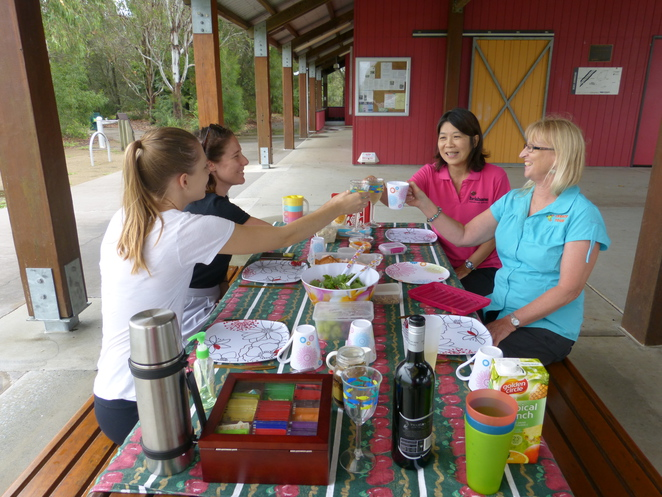 Create-a-Tour, lunch, birdwatching, Oxley Common, Brisbane
