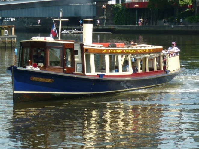 Cruise, boat, river, Melbourne, Yarra, views