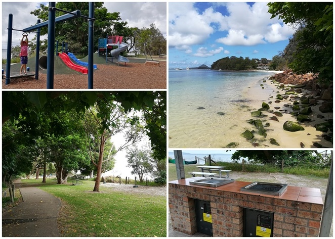 dutchmans beach, playground, dutchmans beach reserve, nelson bay, beaches, bays, playgrounds, best playgrounds for kids, birthday party venues, NSW, BBQs, free barbeque,