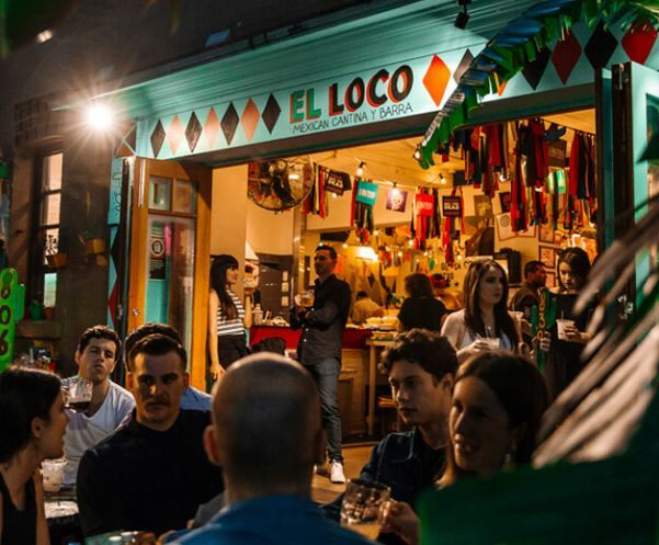 el loco later, merivale, mexican, late, surry hills, dj