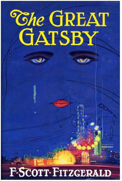 First Edition dust jacket of the The Great Gatsby