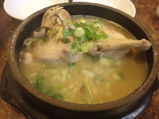 Ginseng Chicken Soup Tosokchon