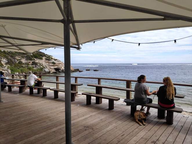 Gnarabup beach, White elephant cafe, Margaret River, Margs, South West, Western Australia, Gnarabup, cafes, cafe, dining, takeaway, coffee, beaches, swimming, walk trails, lookouts, walk track, easy walks, beachside cafe, beachside walks, Gnarabup lookout
