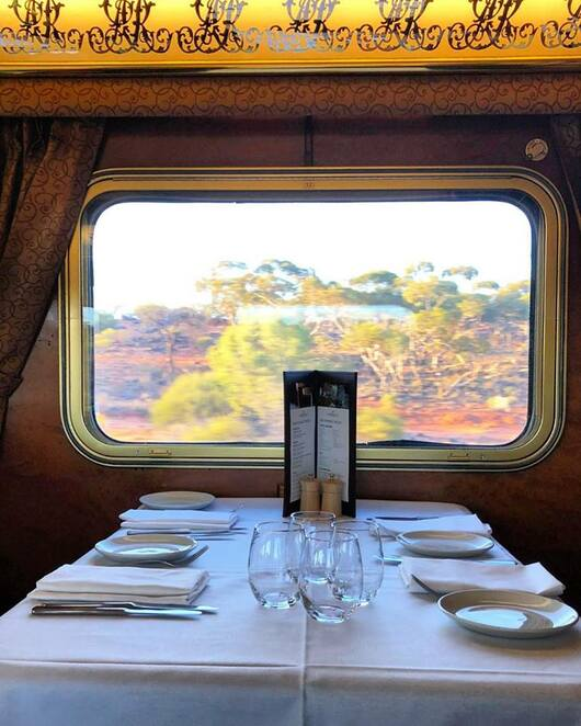 Great Southern Train Trip