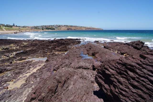 hallett cove, hallett cove beach, beach, rocks, summer, places, adelaide, south australia, beach, summer, conservation park, mother nature, history