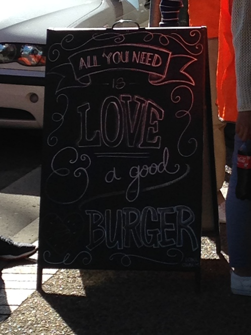 I love burgers, broadbeach takeaway hamburgers gold coast, fish and chips gold coast