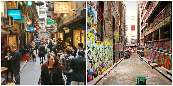 laneways & arcades - that's melbourne