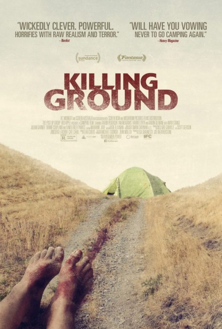 killing ground, film review, movie review, horror movie, movie buff, ifc midnight, mushroom pictures, falcon films, community event, night life, entertainment, cinema, fun things to do, harriet dyer, tiarnie coupland, aaron pederson, maya stange, stephen hunger, aaron glenane, ian meadows, mitzi ruhlmann, airlie dodds, actors, performing arts