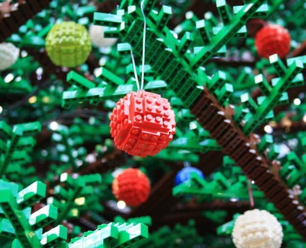 lego toys christmas tree play event