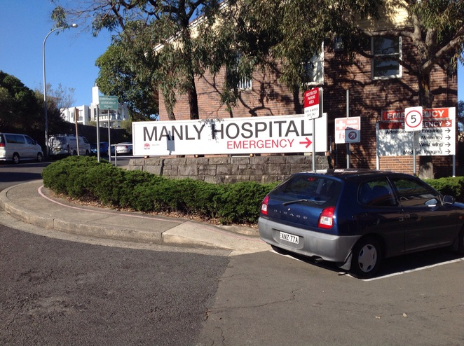 Manly Hospital North head cafe