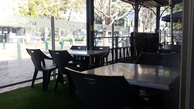 maranellos outdoor seating
