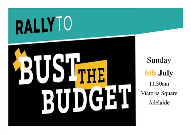 March in July, Bust the Budget, protest