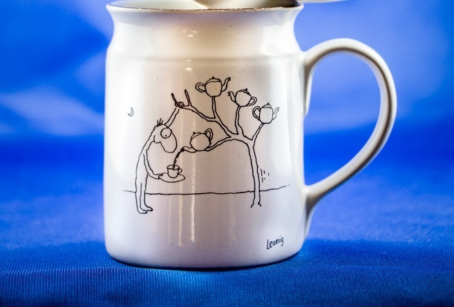 Michael-leunig-leunig-cartoon-poet-artist-spiritual, may cross, mug