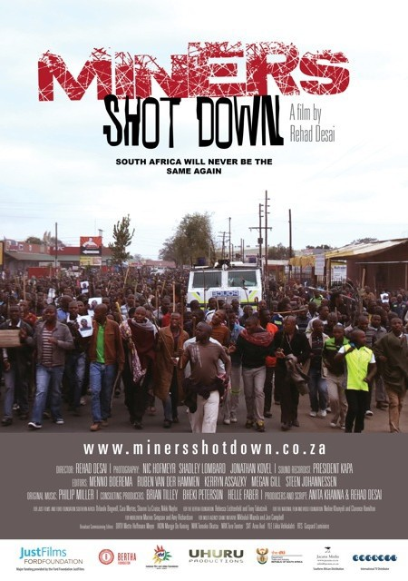 Miners Shot Down Film by Rehad Desai