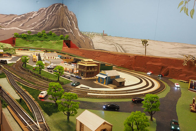 Model Mania at the South West Rail and Heritage Centre model railway layout