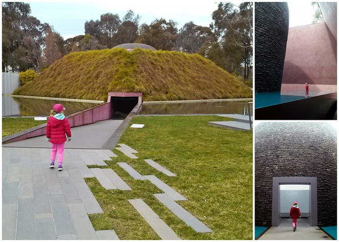 national gallery of australia, sky space, james turrell, within without 2010, canberra, families, kids, parlaimentary triangle, lake burley griffin,