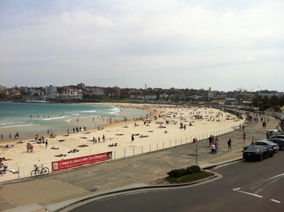 North Bondi RSL opposite Bondi Beach